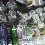 Glass pipes in orange county smoke shop
